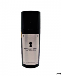 Antonio Banderas The Secret 150ml –  Desodorante Masculino