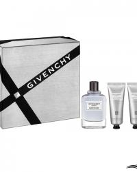 Givenchy Kit Perfume Gentlemen Only EDT 100ml + Shampoo 75ml + Creme De Barbear 75ml – Coffret Masculino