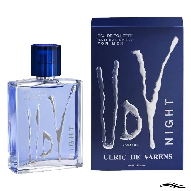 ULRIC DE VARENS NIGHT MASCULINO EDT 60ML