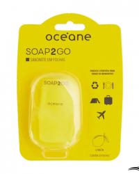 Océane Soap2Go Limão – Sabonete Em Folhas